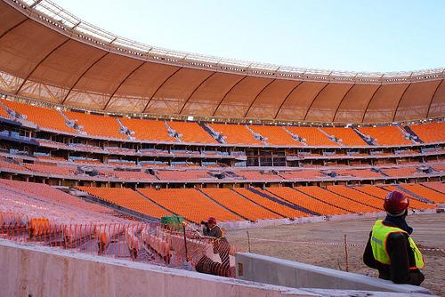 Assentos terão mesma tecnologia dos utilizados no Soccer City, em Johanesburgo